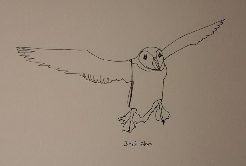 Line drawing: A 5day bootcamp - image 19 - student project