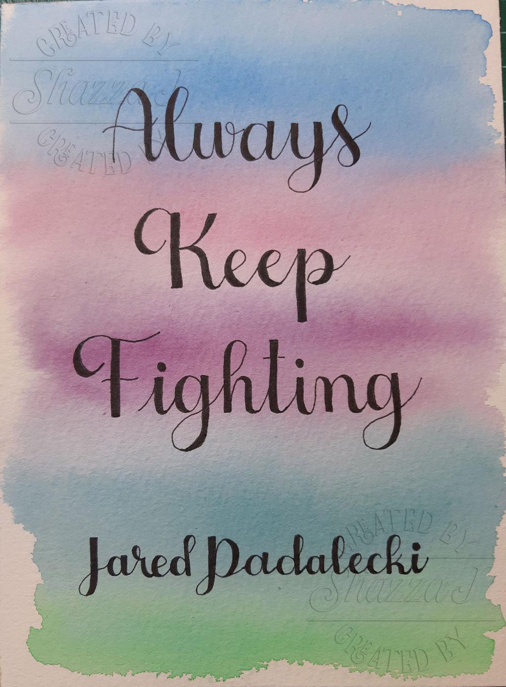 Always Keep Fighting - image 1 - student project