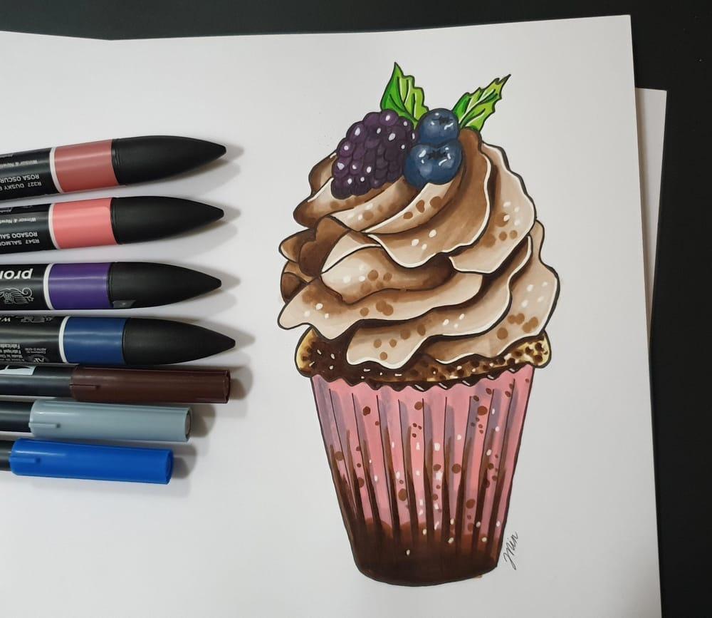 Mocha cupcake - image 1 - student project