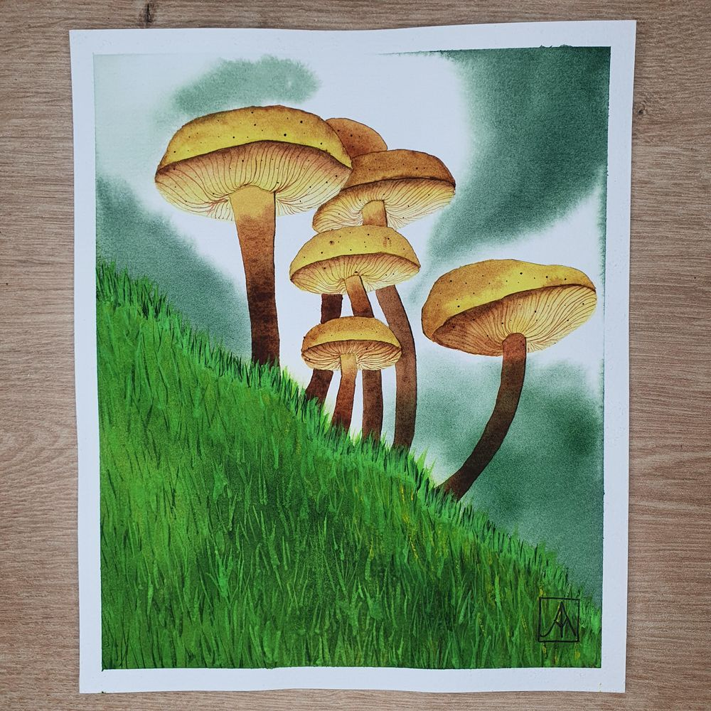 31 Days of Autumn Landscapes with Watercolours - image 6 - student project