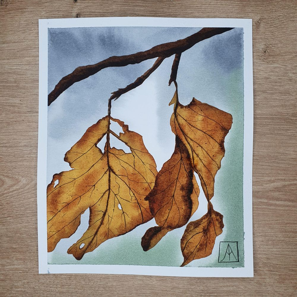 31 Days of Autumn Landscapes with Watercolours - image 5 - student project