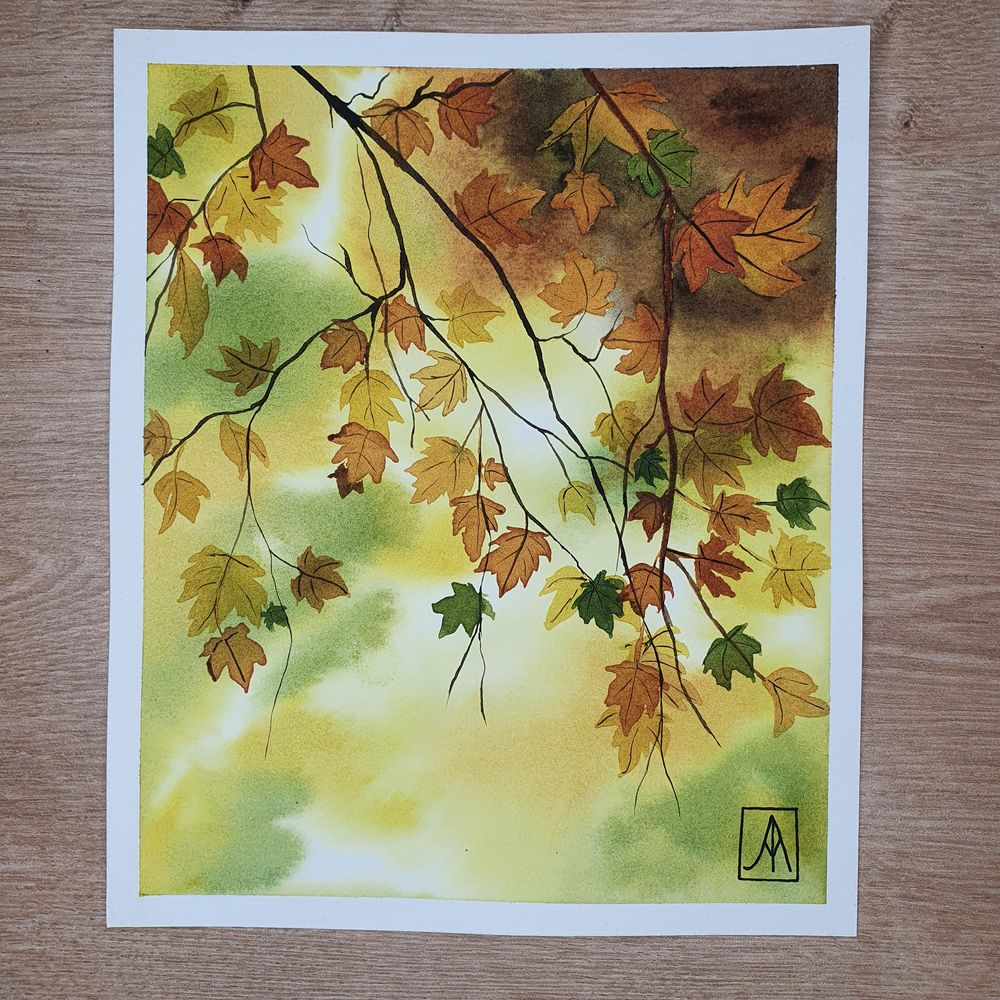 31 Days of Autumn Landscapes with Watercolours - image 4 - student project