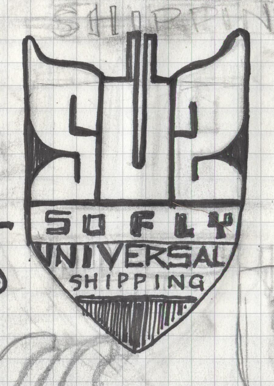 _UPDATED_SoFly Universal shipping - a galactic funk delivery logo - image 5 - student project