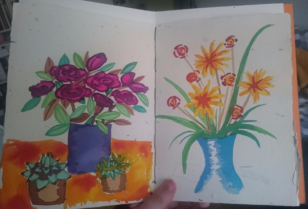 Watercolor Florals - image 6 - student project
