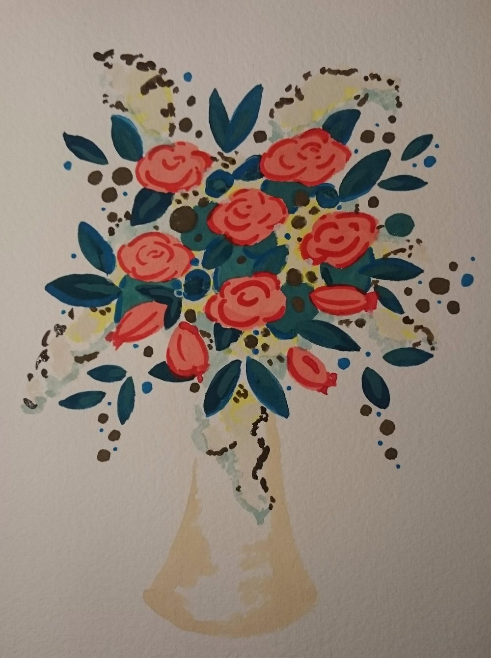 Watercolor Florals - image 5 - student project