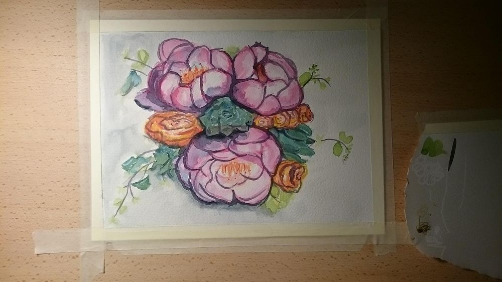 Watercolor Florals - image 3 - student project