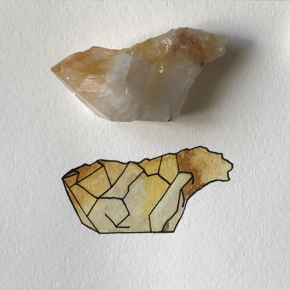 Realistic and whimsical crystals - image 3 - student project