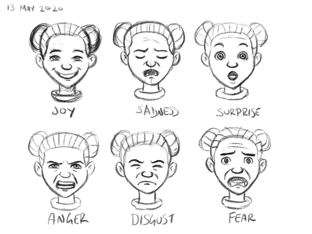 Paul Hallam Expression Studies - image 1 - student project