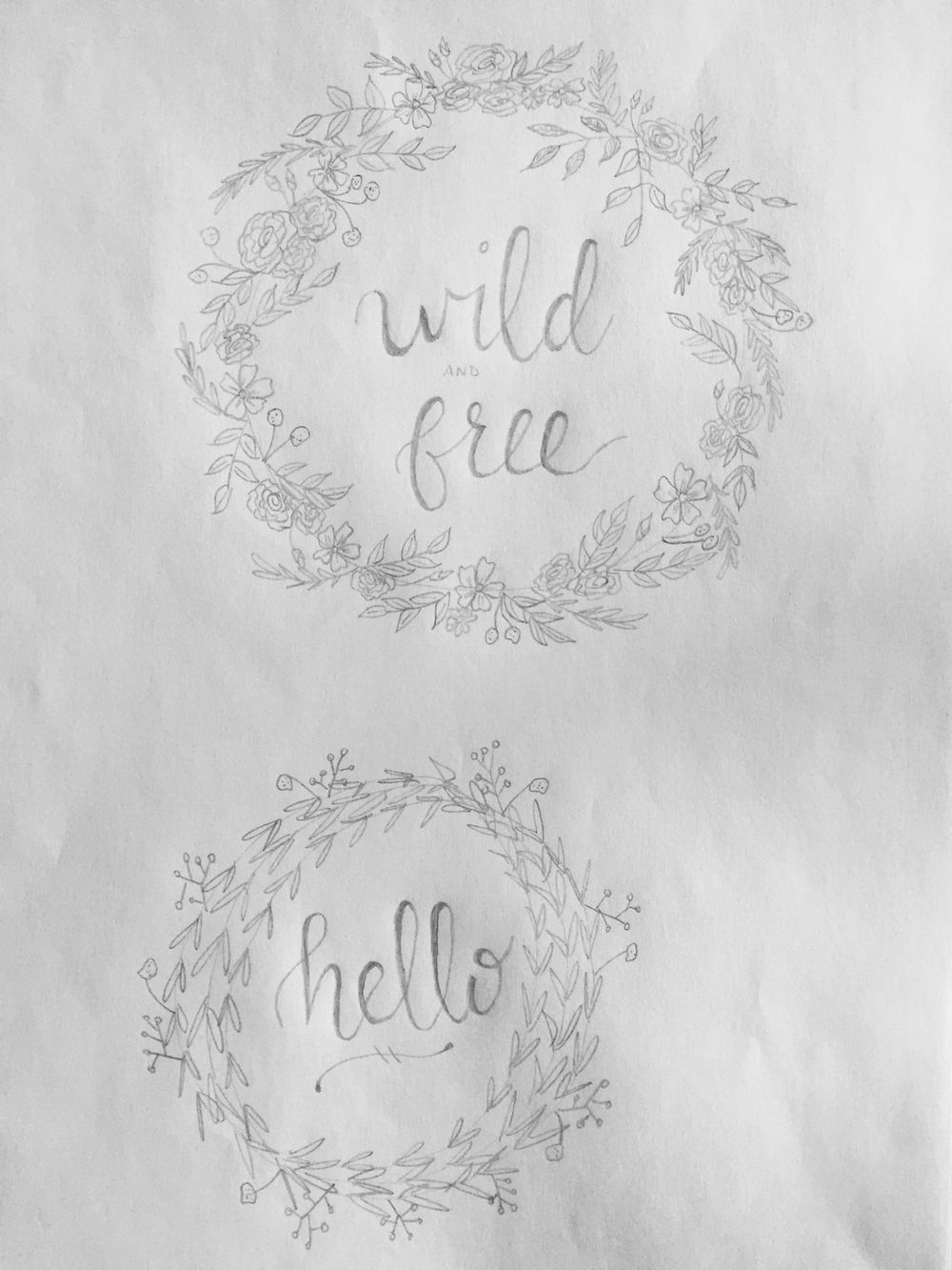 Botanical Doodles - image 4 - student project