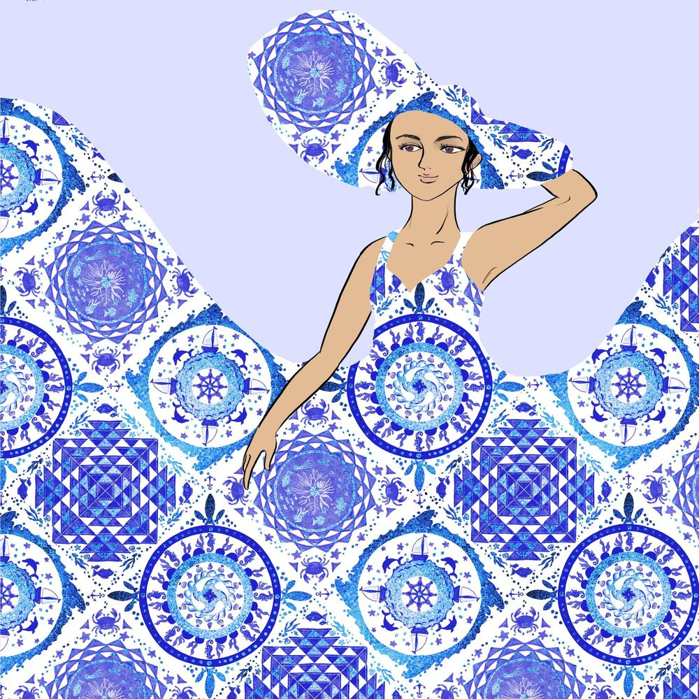 Tile lady - image 4 - student project