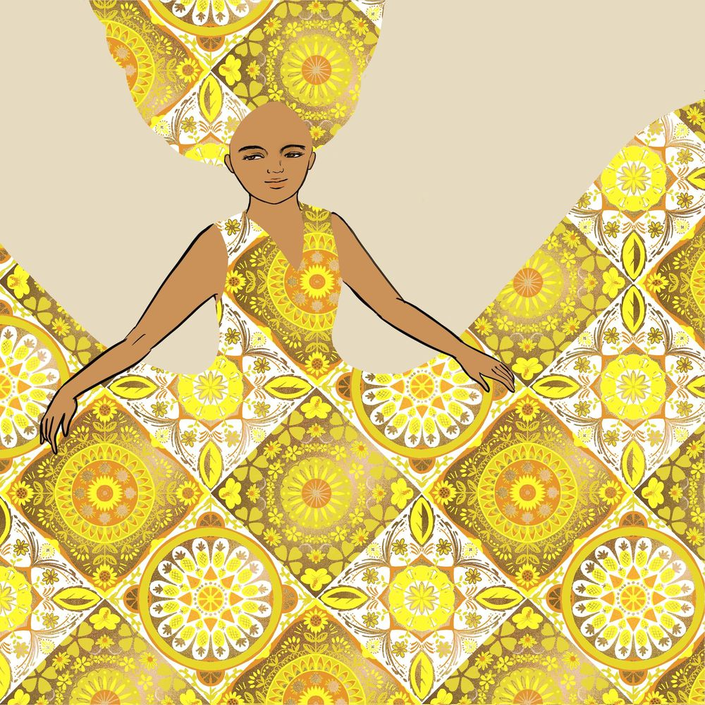 Tile lady - image 3 - student project