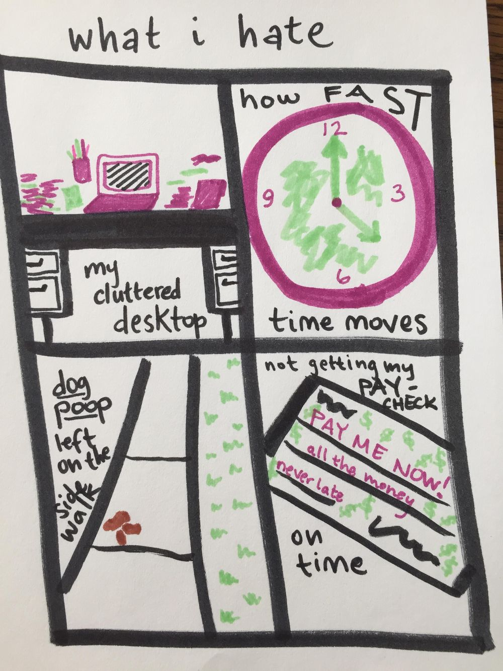 visual journaling - image 2 - student project
