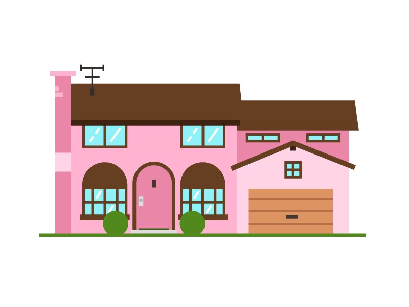 My House, not really - The Simpsons House - image 1 - student project