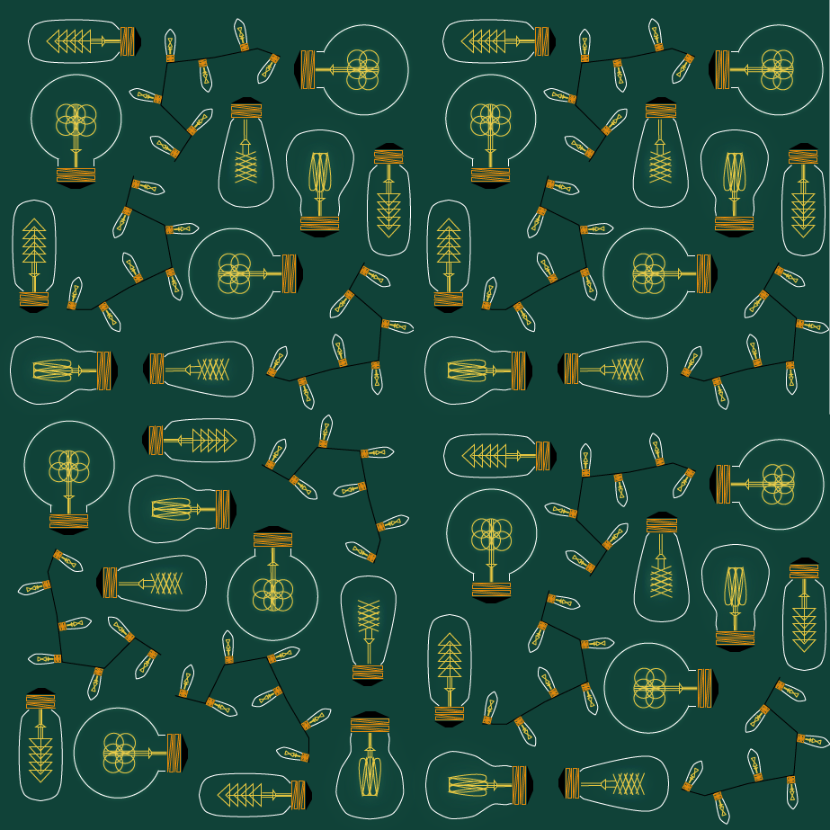 Lightbulb Pattern - image 1 - student project
