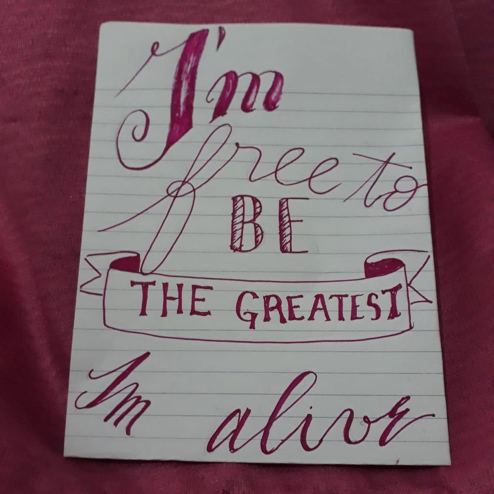 Lettering Challenge (@dijo_el_cuervo) - image 2 - student project