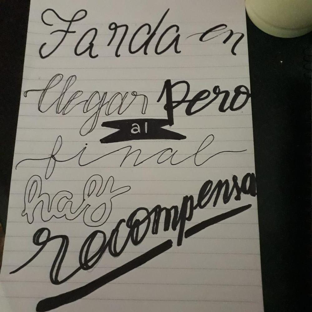 Lettering Challenge (@dijo_el_cuervo) - image 4 - student project