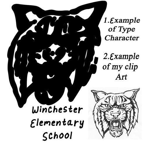 Winchester School Mascot - image 1 - student project