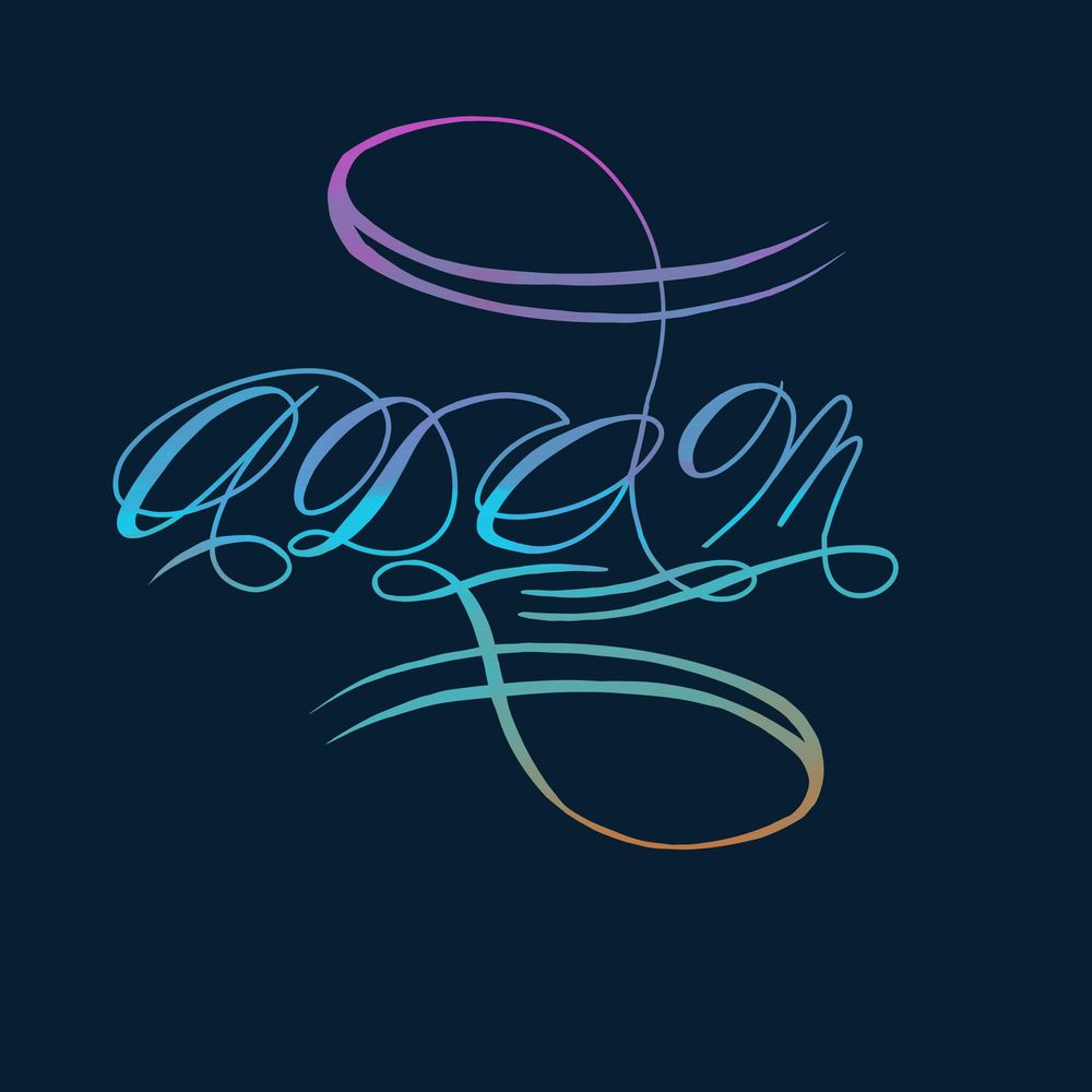 My name in script - image 1 - student project