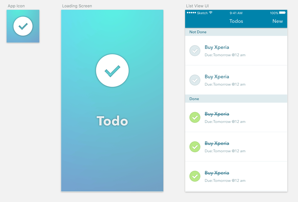 Xunna's Todo List - image 1 - student project