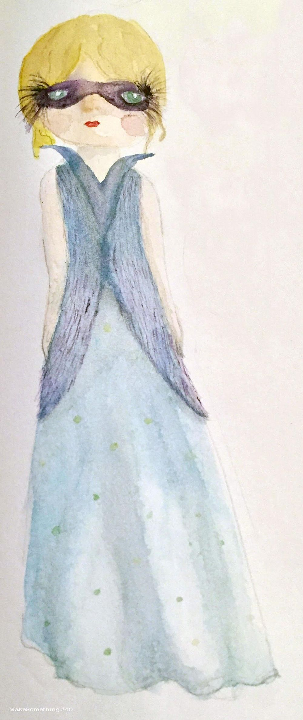 Watercolor Couture - image 1 - student project