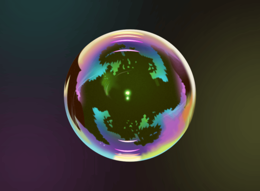 Realistic vector bubble - image 1 - student project