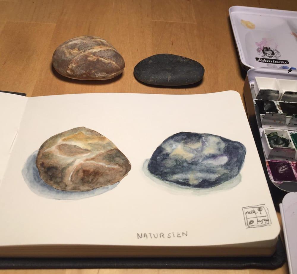 Natur sten - image 1 - student project
