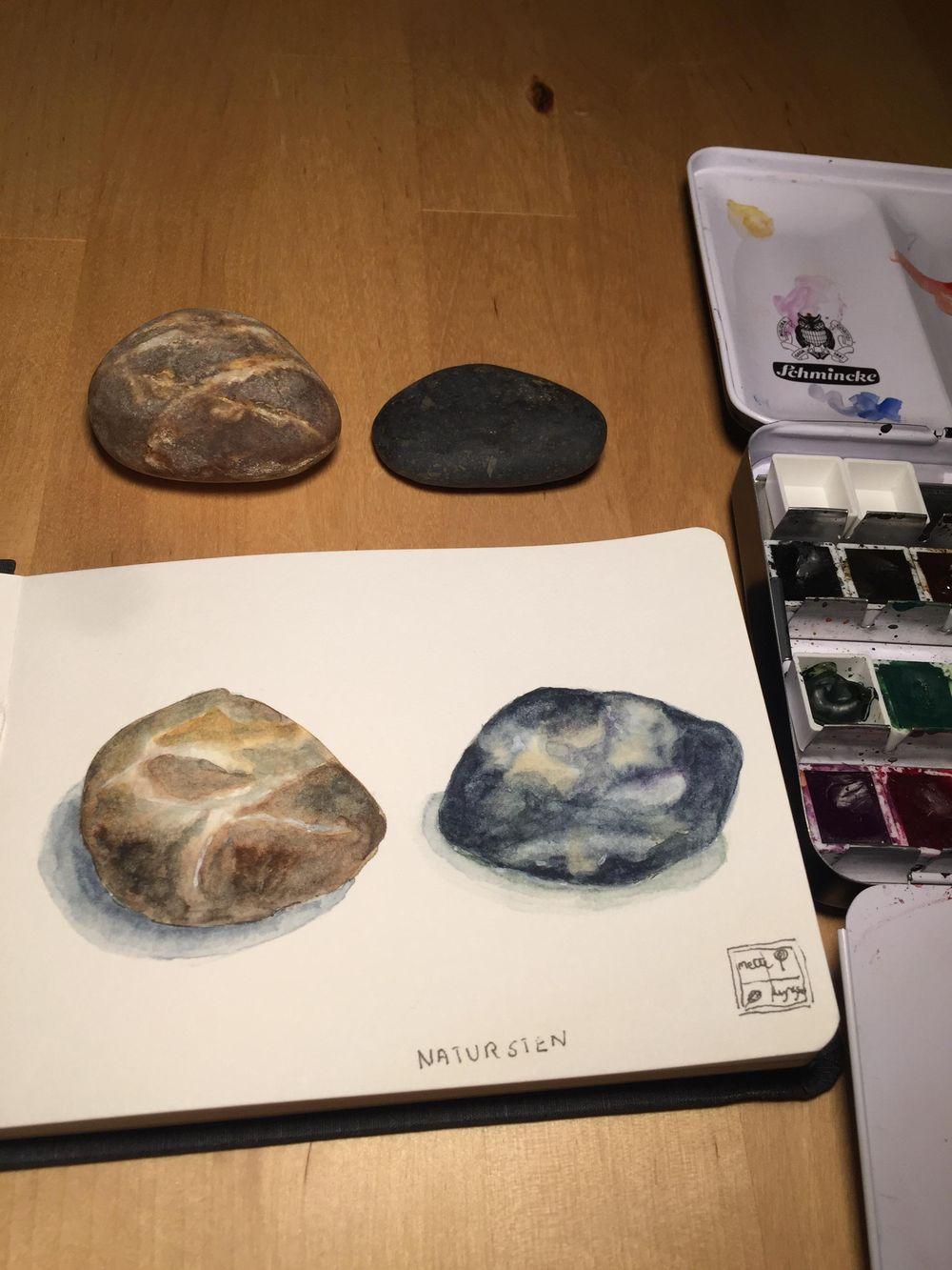 Natur sten - image 2 - student project