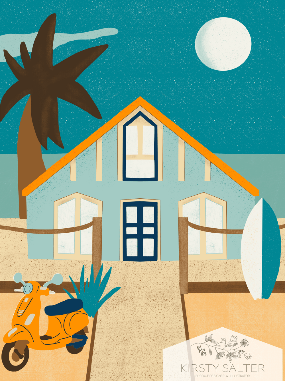 Evening Surfers Paradise Home - image 1 - student project