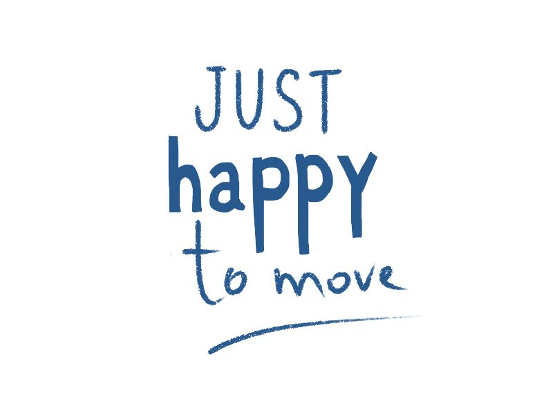 Just happy to move - image 2 - student project