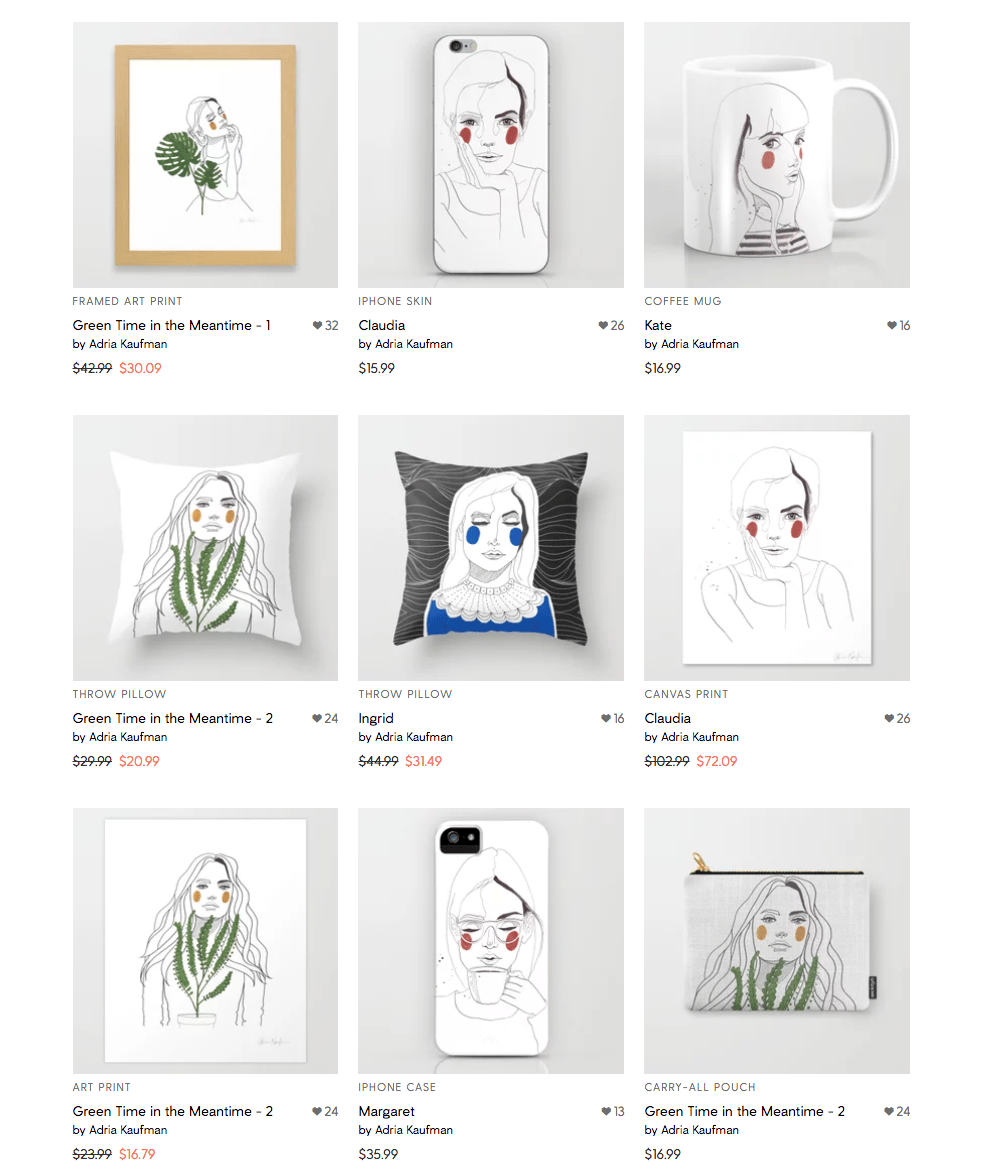 Society6 Update - image 1 - student project