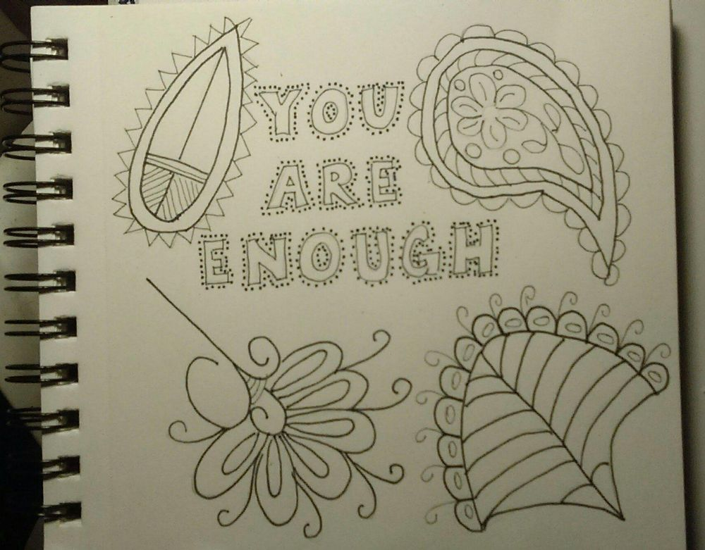 Block Lettering with Stippling on Edges - image 2 - student project