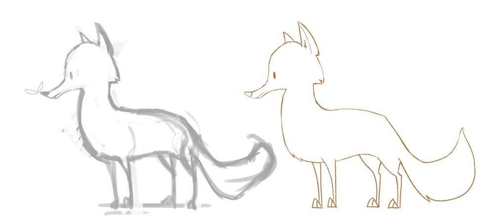 Designing Animal Characters - image 3 - student project