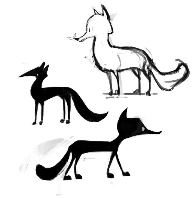 Designing Animal Characters - image 2 - student project