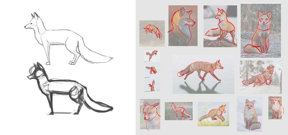 Designing Animal Characters - image 1 - student project