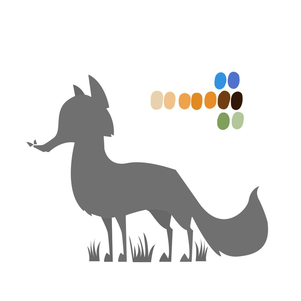 Designing Animal Characters - image 4 - student project