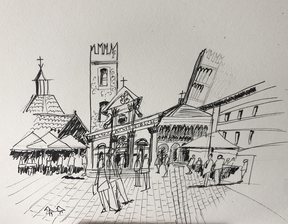 First two Travel Sketches - image 1 - student project