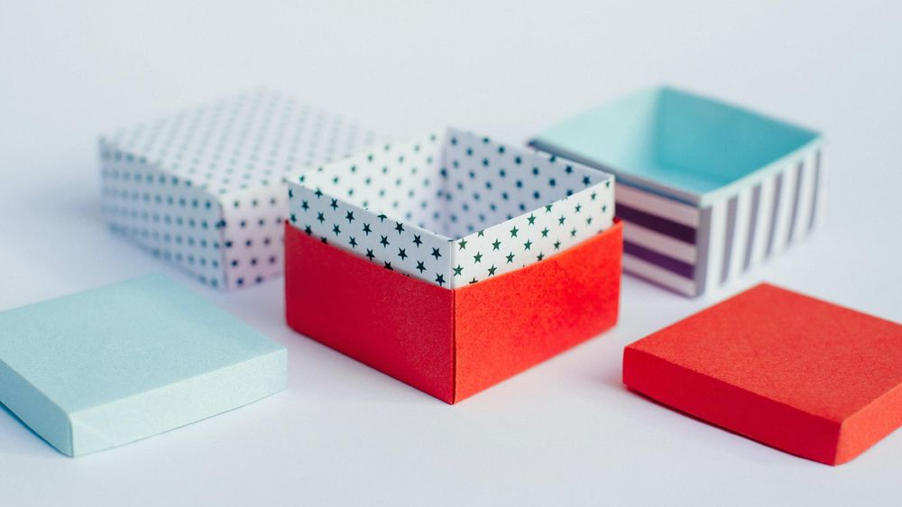 Origami Gift Boxes - image 2 - student project