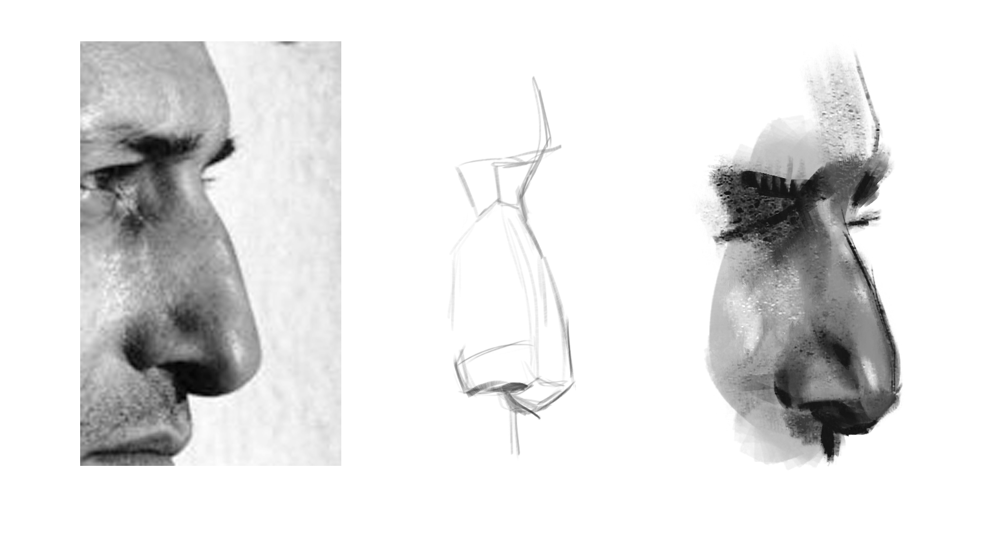 Nose practice - image 3 - student project