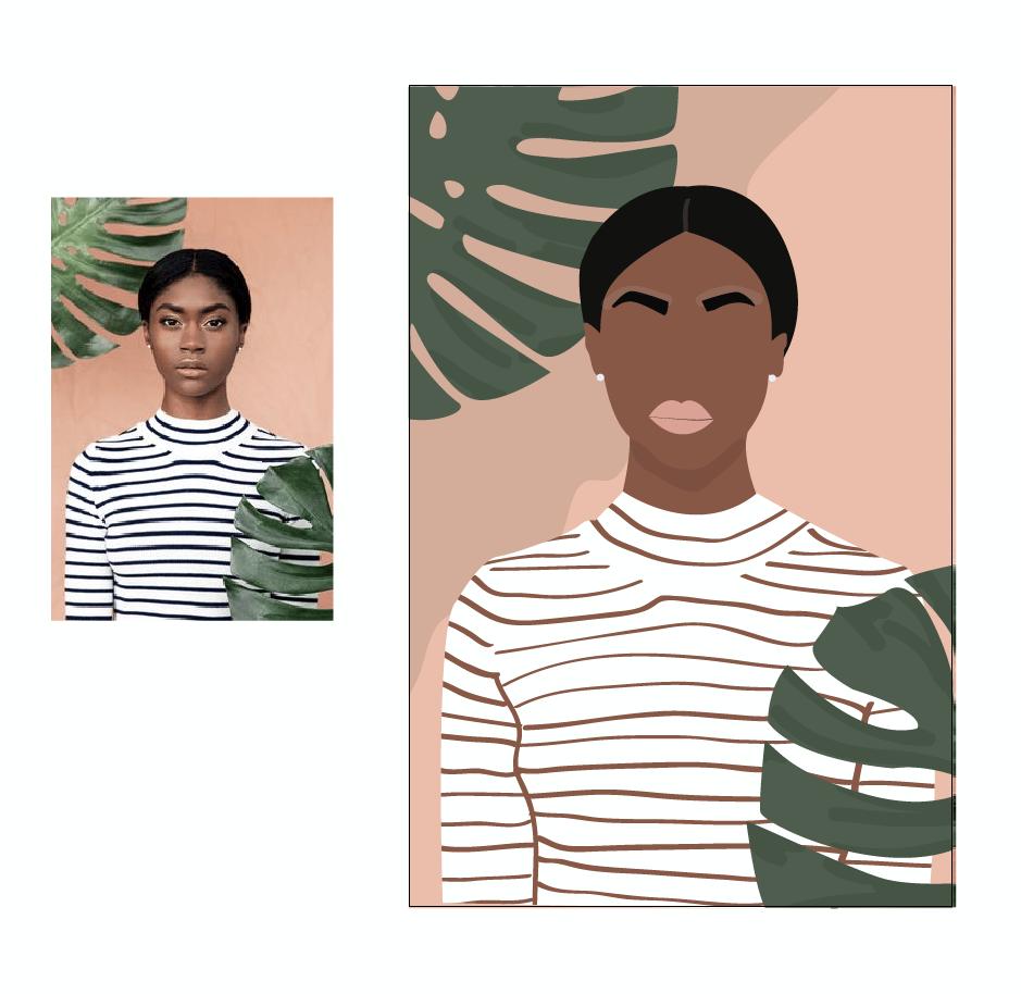 Flat Illustration - image 1 - student project
