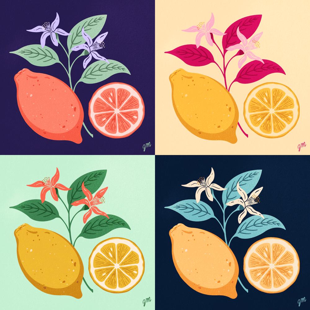 Limited Color Palette Explorations - image 1 - student project