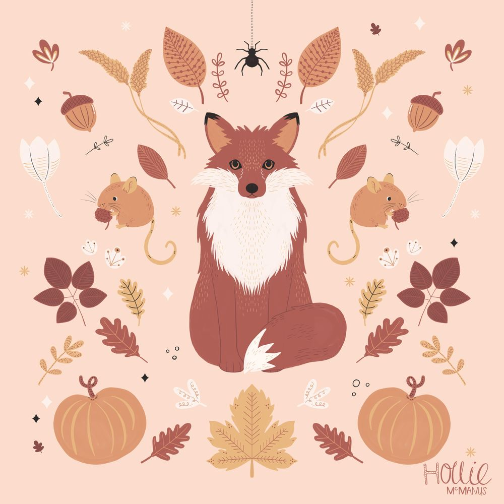Autumn Woodland Fox - image 1 - student project