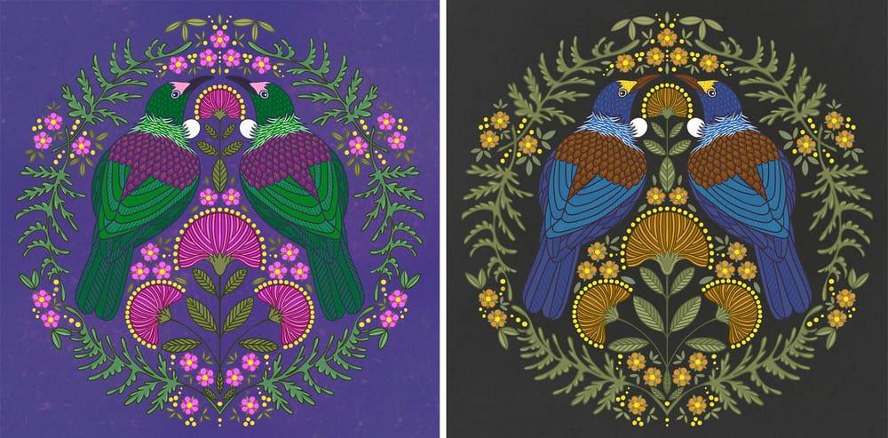Tui Folk Art Design - image 2 - student project