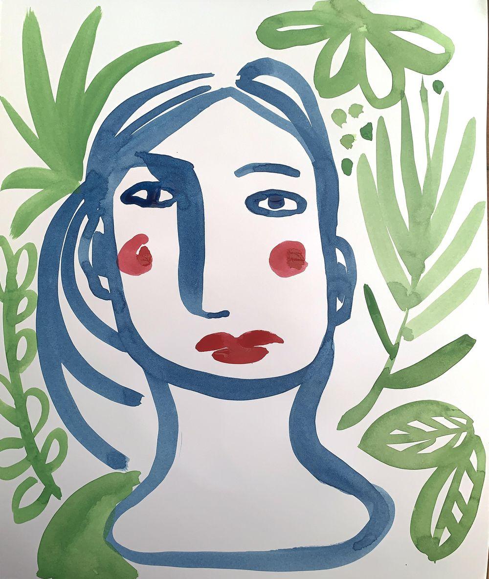 Intuitive Self Portrait - image 5 - student project