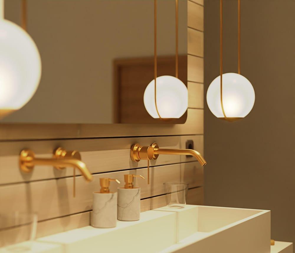 Bathroom - image 1 - student project