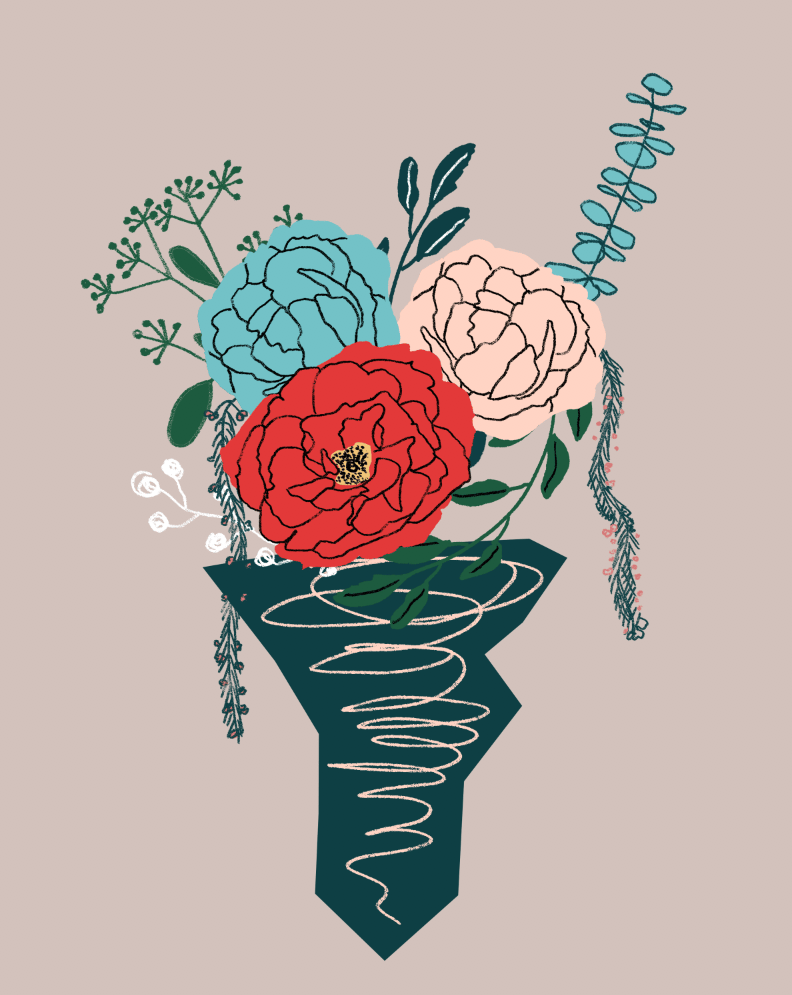 An English Garden Bouquet - image 13 - student project