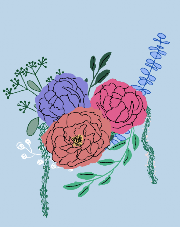 An English Garden Bouquet - image 8 - student project