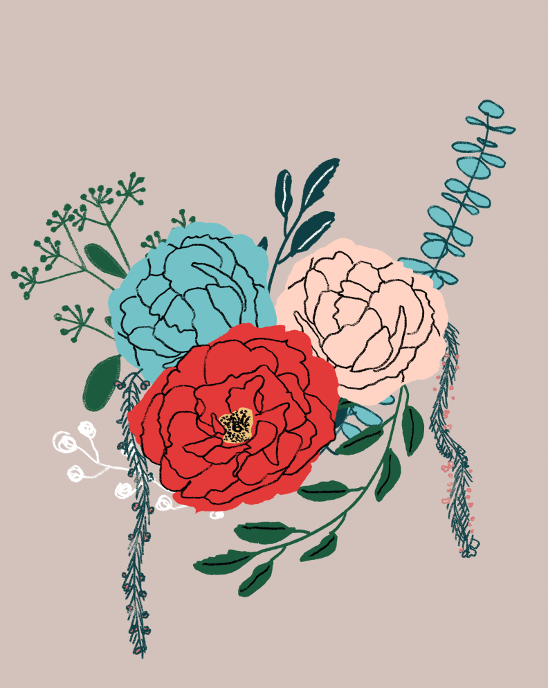 An English Garden Bouquet - image 12 - student project