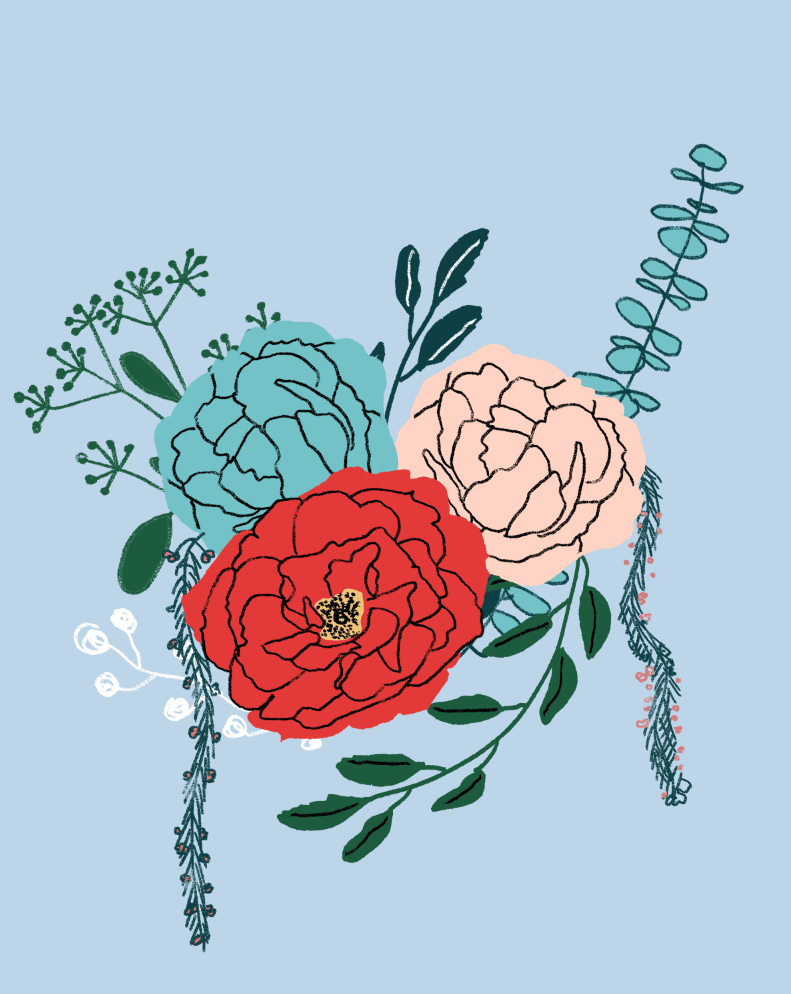 An English Garden Bouquet - image 11 - student project