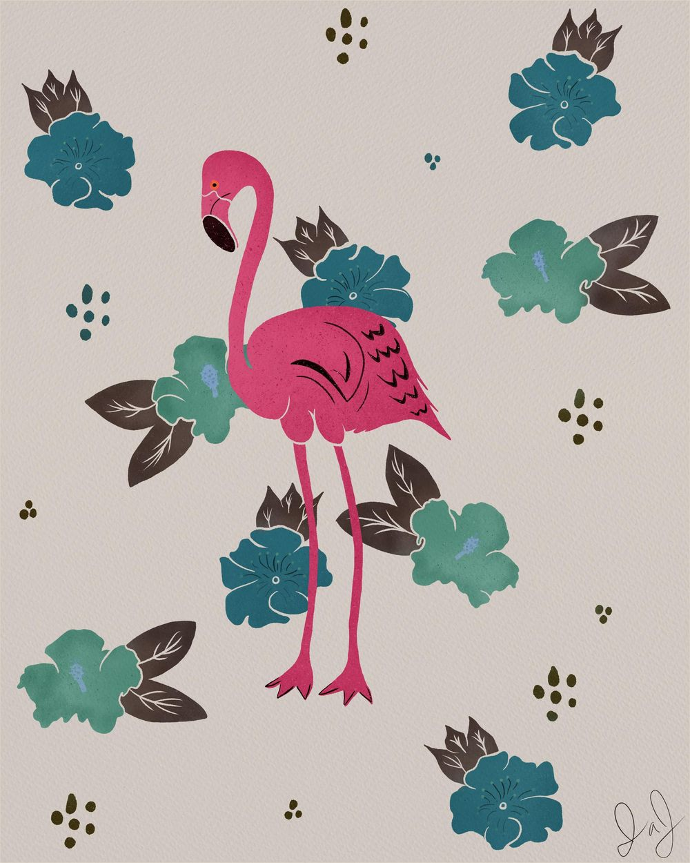Flamingo in Paradise - image 1 - student project
