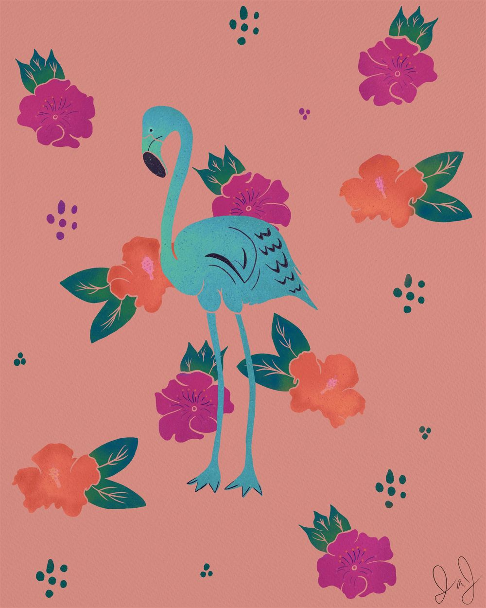 Flamingo in Paradise - image 2 - student project
